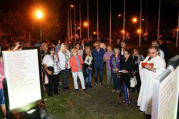Tigre rindió homenaje a las víctimas de la última dictadura