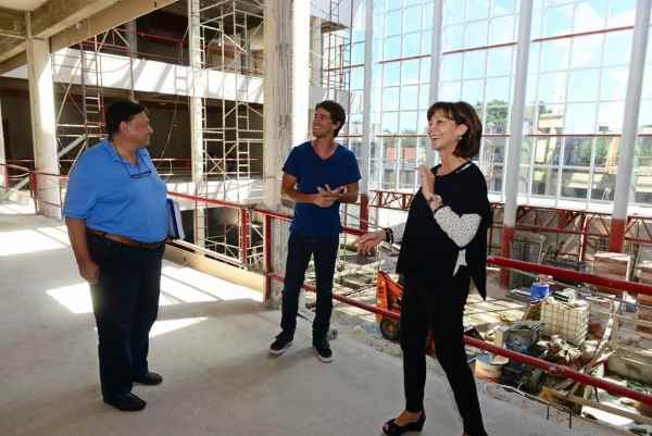 La obra del Hospital Municipal de San Fernando entró en su última etapa