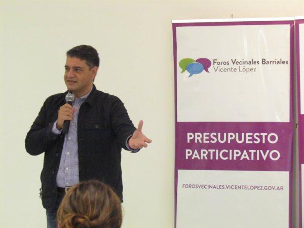 Jorge Macri, presentó el lanzamiento de los Foros Vecinales Barriales, en la Casa de la Cultura