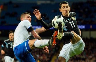 Argentina aprobó el examen y venció, sin Messi, a Italia en el primer amistoso de cara al mundial de Rusia (Foto Télam)