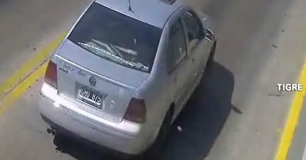Manejaba un auto robado en General Pacheco y fue detectado por el sistema BUSCADOR