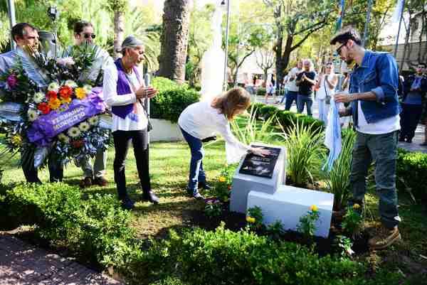 En el Día de la Memoria, San Fernando homenajeó a 'Willy' Parejo, desaparecido durante la dictadura militar