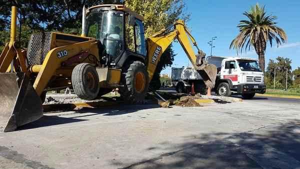 Continúan los trabajos integrales en Tigre centro