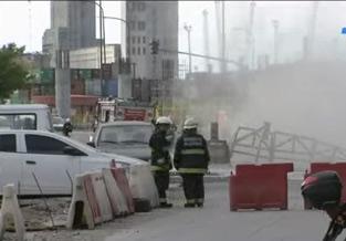 Un escape de gas mantuvo en vilo durante cuatro horas al barrio de Retiro