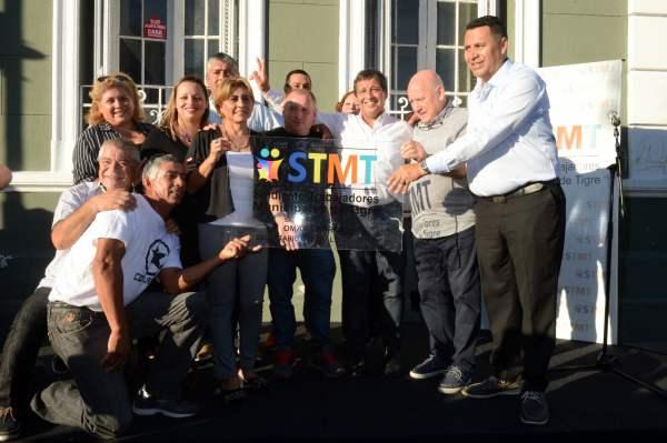 El Sindicato de Trabajadores Municipales de Tigre presentó a sus nuevas autoridades