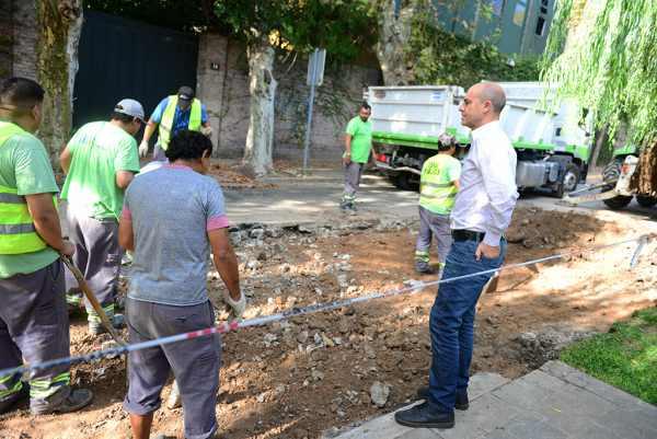 San Fernando Avanza con el Plan de Repavimentación en el barrio Pagliettini