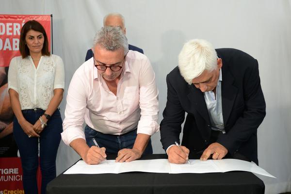 El acuerdo firmado por el intendente Julio Zamora y autoridades de la cámara sectorial de Tigre y San Fernando, incluye incentivar la capacitación del personal
