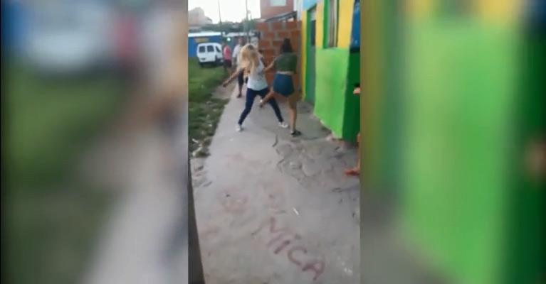 Se citaron a pelear en La Cava, una mató a otra a puñaladas y el video del crimen se hizo viral