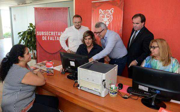 Julio Zamora inauguró un anexo de la Subsecretaría de Faltas en Nuevo Delta