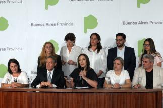 Vidal presentó los proyectos de reforma del sistema de justicia