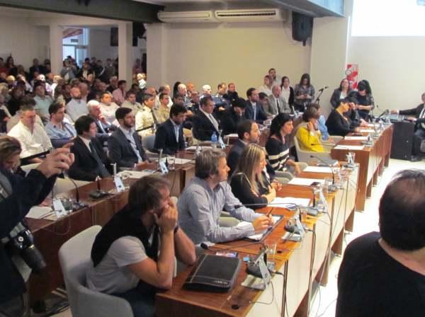 Andreotti dio inicio a las sesiones ordinarias 2018 en el HCD de San Fernando