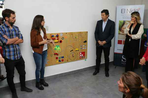 """San Isidro: """"El Nido"""" sumó un nuevo mural sensorial"""