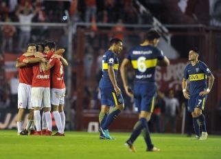 Independiente le dio otro golpe a Boca, se metió en zona de Libertadores y dejó abierta la lucha por el título