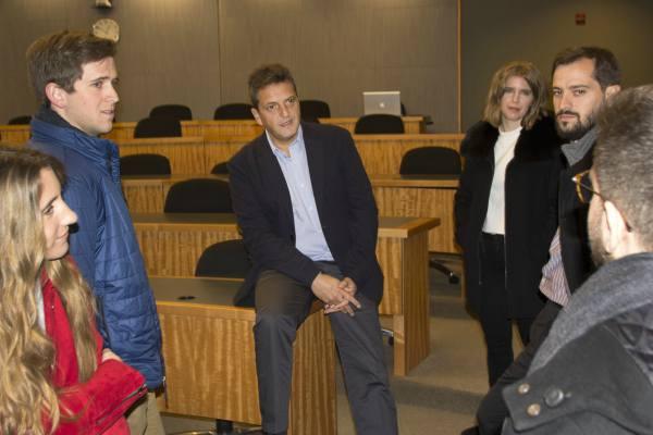 """En el segundo día de su exposición en la Universidad de Chicago, Sergio Massa compartió la jornada """"Conversaciones"""" en el marco del encuentro Masters Argentina llevado a cabo en esa Institución"""