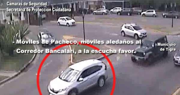 Video: así el El COT detuvo a un Juez Federal por conducir alcoholizado en Pacheco