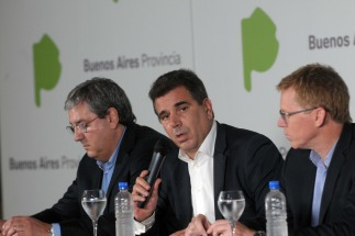 ministro de Seguridad bonaerense, Cristian Ritondo