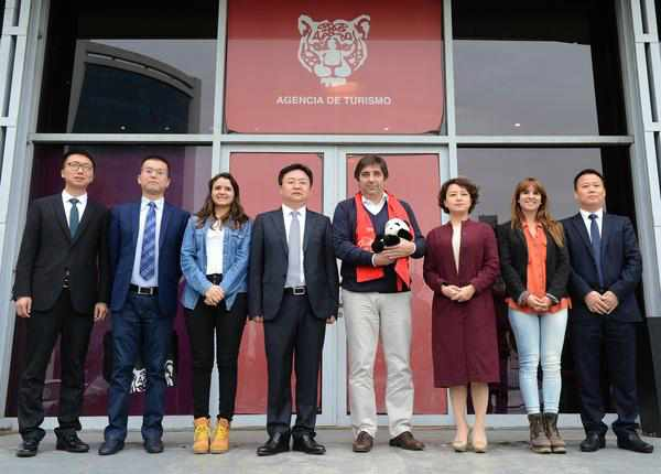 Con eje en el desarrollo turístico, Tigre y China estrechan lazos