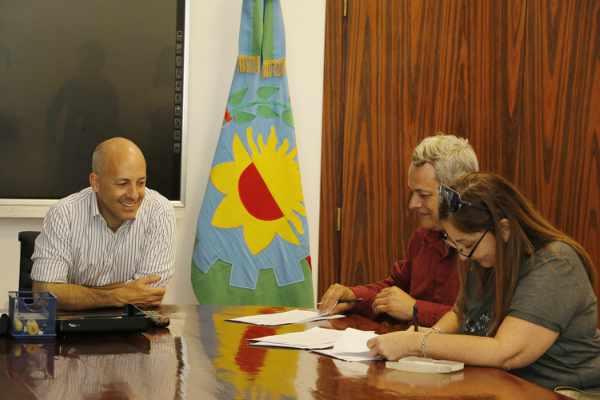 El Intendente Nicolás Ducoté firmó la paritaria municipal con el Sindicato de Trabajadores Municipales de Pilar y la Asociación de Trabajadores del Estado.