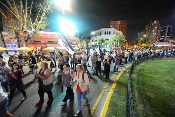 Tigre se movilizó en contra del tarifazo