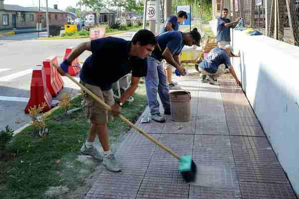 Tigre continúa con las obras integrales en el Puerto de Frutos