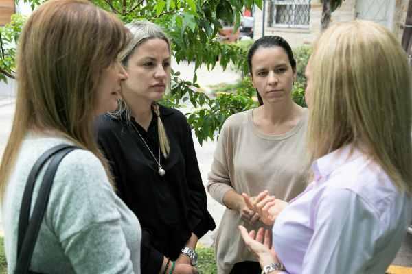 Soledad Martínez y Carolina Piparo recorrieron el Centro Municipal de la Niñez y Adolescencia