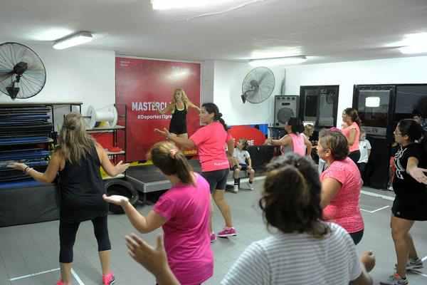 Cada vez más vecinos eligen la masterclass fitness de Tigre