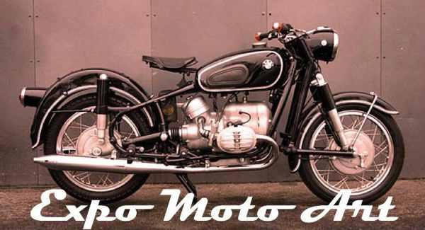 Exposición de motos clásicas en San Isidro