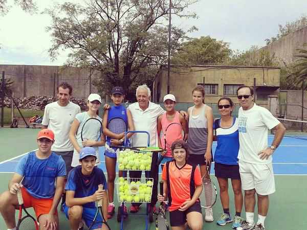 Dos tigrenses de la escuela municipal de tenis se destacan a nivel nacional