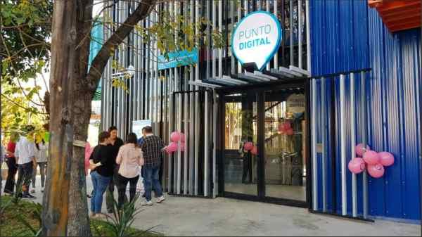 Se inauguró el primer Punto Digital en Vicente López