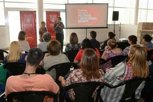 Tigre lanzó una campaña contra el maltrato y el abuso sexual infantil