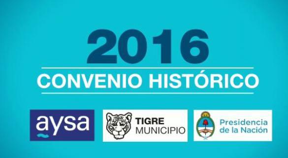 Tigre vuelve a reclamar al Gobierno Nacional por la falta de avances en las obras de cloacas y agua