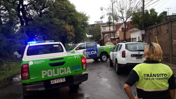 Intenso temporal de lluvia y viento afectó la zona Metropolitana