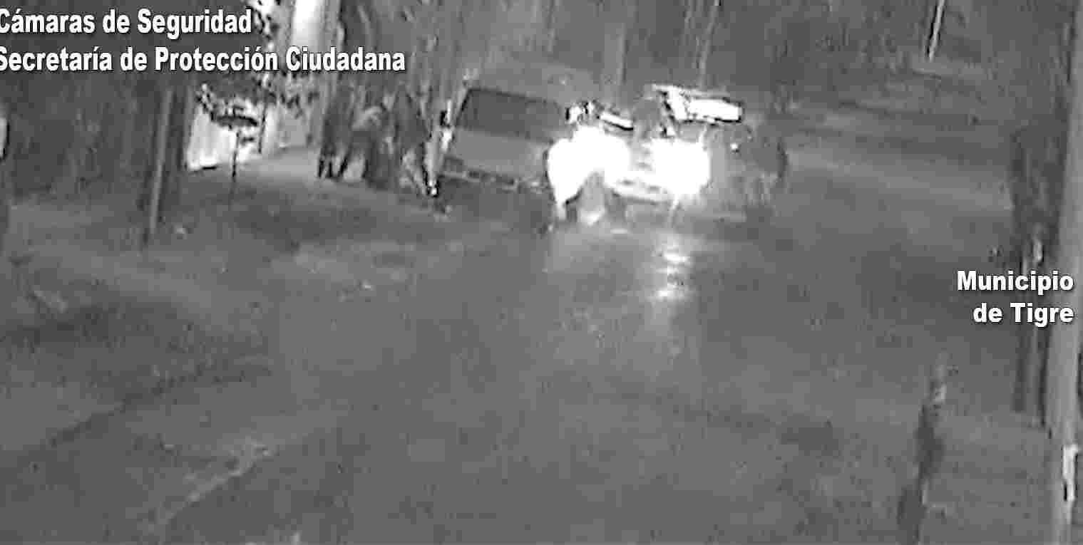 Las cámaras de Tigre fueron esenciales para detener el robo de una camioneta