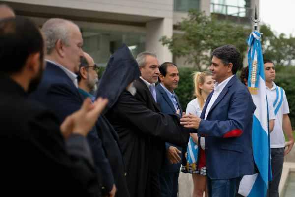 Jorge Macri participó de un acto en conmemoración del Genocidio Armenio