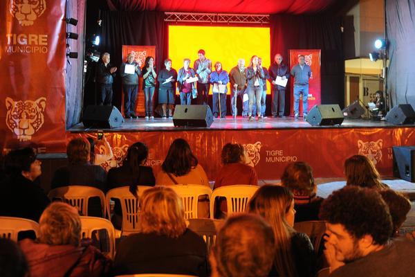 Tigre celebró el 89° aniversario de Benavídez