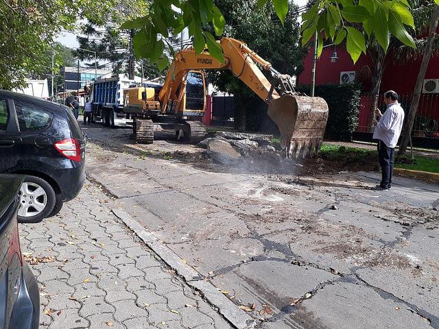 Renuevan el asfalto en 19 cuadras de Martínez