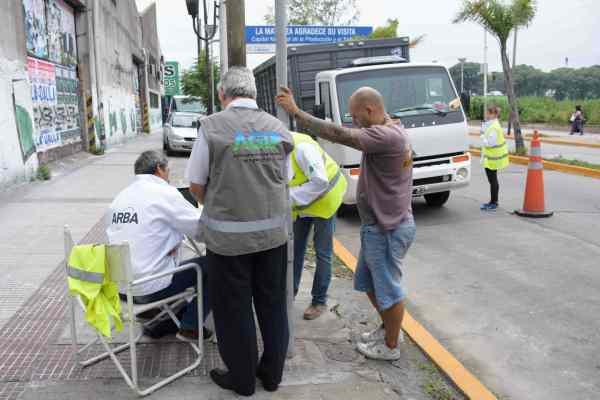Operativo conjunto de provincia y ciudad de Buenos Aires sobre el transporte de cargas