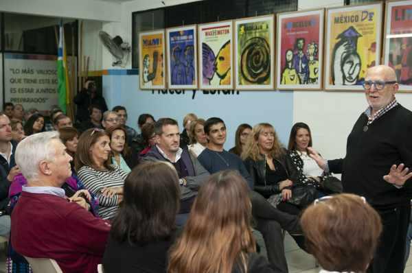 """Tony Puig, encabezó en San Martín la conferencia """"Ciudades con Identidad"""","""