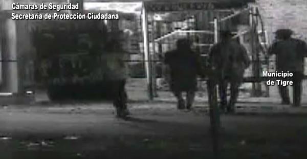 Intentaron robar un comercio en Troncos del Talar y las cámaras los detectaron