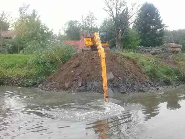 El Municipio de Tigre inició operativos de limpieza en el Río Reconquista
