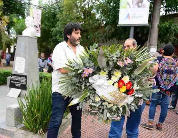 El PJ de San Fernando homenajeó a Eva Perón en el 99° aniversario de su nacimiento