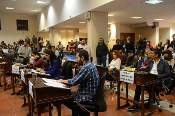 Unidad Ciudadana reprobó los tarifazos en el HCD de Tigre