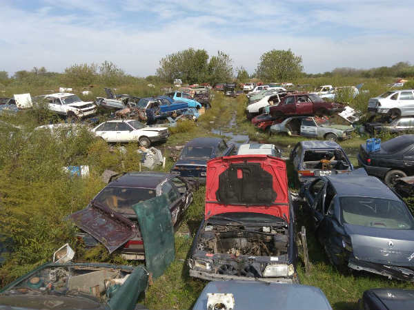 Desarmaderos: secuestraron más de mil vehículos, clausuraron tres mil locales y demoraron a más de 900 personas