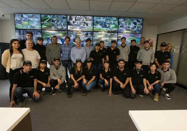 Andreotti inauguró la ampliación del Centro de Operaciones de San Fernando