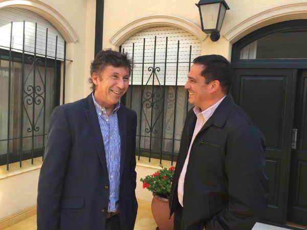 Leandro Martín y Gustavo Posse