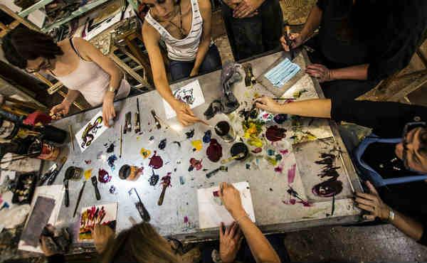 Los artistas del Alto de San Isidro abrieron las puertas de sus talleres