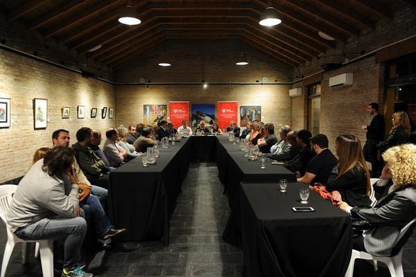 Cómo afrontar la crisis argentina, eje de la reunión de Zamora con comerciantes e industriales de Tigre
