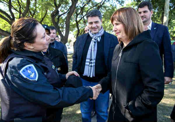 La Nación y Vicente López trabajan para brindar mayor seguridad al Barrio La Loma