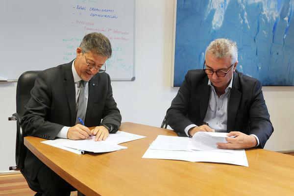 Tigre firmó un convenio de cooperación ambiental con la Universidad de San Martín
