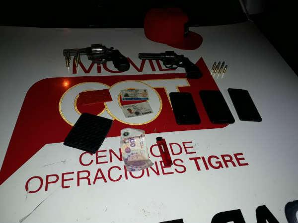 Detuvieron a dos sujetos armados en Tigre